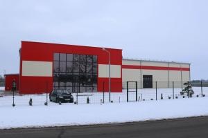 LLC «Bauma», administrative and warehouse building