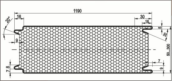 Характеристик соединения стеновой сэндвич-панели