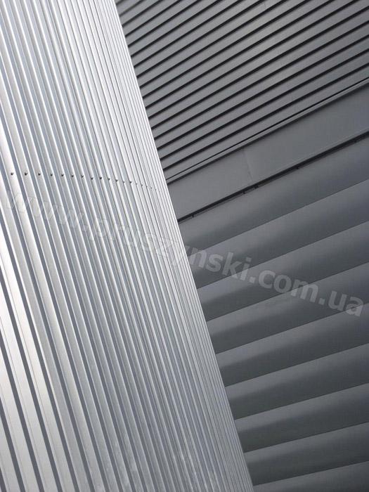 Стеновой профнастил фото